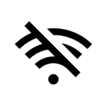 no wifi symbol